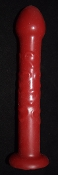 Hearts - Silicone Designer Shaft  RED SOLID RTS