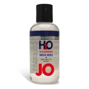 JO H2O 8oz Water Based Personal Warming Lubricant