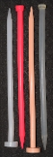 "SPEAR-A 12.5mm 12""  Large Smooth Sound #18 BLOOD RED SOLID RTS"