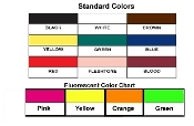 Color Sample Chart